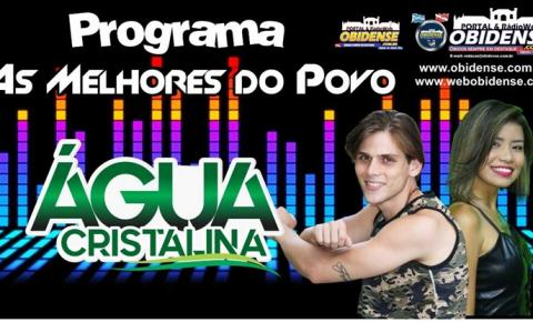 "Nesta segunda-feira (17) A Banda Água Cristalina será a convidada do Programa ""As Melhores do Povo"""