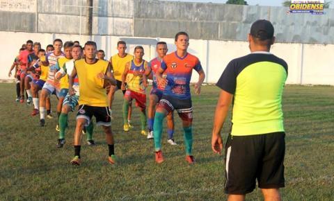 Seleção obidense treina para jogo contra Jurutí valido pela 5ª rodada da copa oeste.