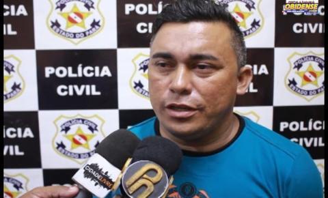 Homem é preso acusado de zoofilia em praça pública de Oriximiná
