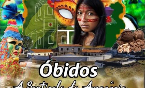 Escola de Samba que vai homenagear Óbidos no carnaval de 2019 em Manaus, lança sua arte do enredo.