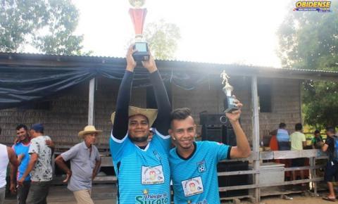 1ª edição do campeonato de futebol socity Francisco Almeida foi realizado na comunidade Santíssima Trindade.