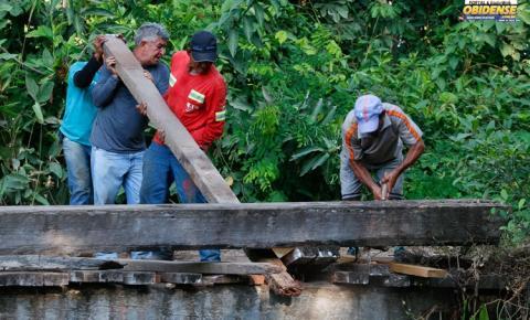 Comunidade Andirobal recebe investimentos em saneamento básico e infraestrutura