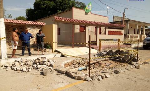 Prefeitura de Oriximiná publica nota, sobre paralisação de fornecimento de água por algumas horas devido a quebra de adutora.
