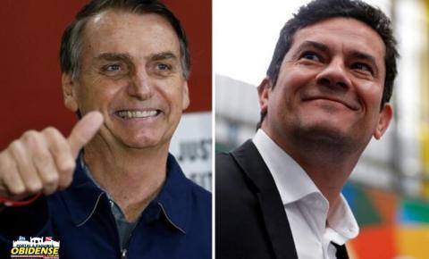 Moro vai ao Rio para discutir ministério com Bolsonaro
