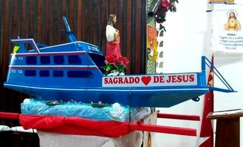 O bairro da Cidade Nova em Óbidos – PA, celebra hoje o encerramento das festividade do Sagrado Coração de Jesus