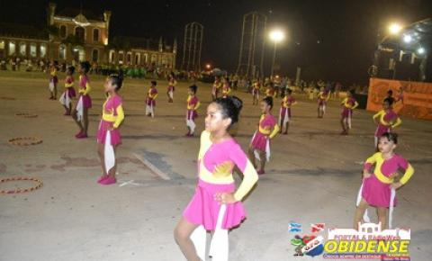 Escolas da rede municipal de Óbidos farão a apresentação de seus grupos de ginástica nos próximos dias 14 e 15 de novembro.