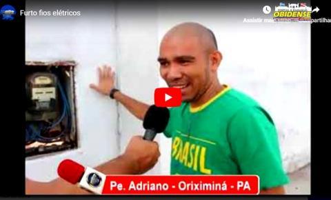 Em Oriximiná padre é surpreendido ao retornar das visitas nas comunidades e encontrar sua casa sem energia