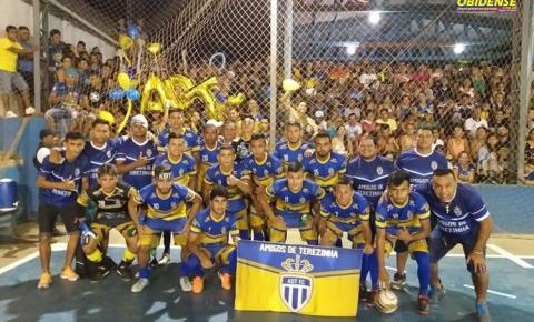 Amigos de Terezinha se sagra campeão do campeonato de futsal do Mariano 2018.