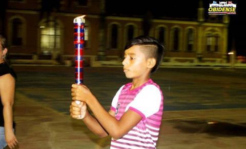 Os jogos estudantis em Óbidos, iniciaram na terça-feira (27) na praça da Cultura