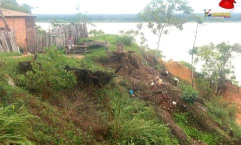 Moradores da travessa Juraci Matos voltam a ficar em alerta com a chegada das chuvas