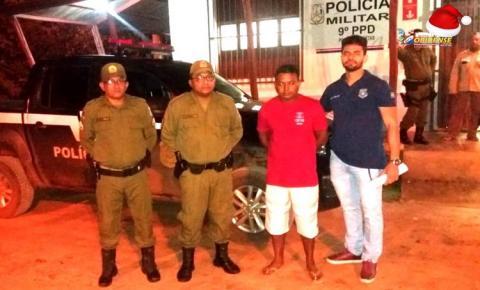 Acusado de matar esposa em Terra Santa – PA, se entrega a polícia e é transferido as presas para Santarém.