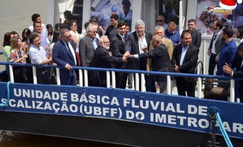Embarcação do IMETRO Pará, vai fiscalizar regiões ribeirinhas