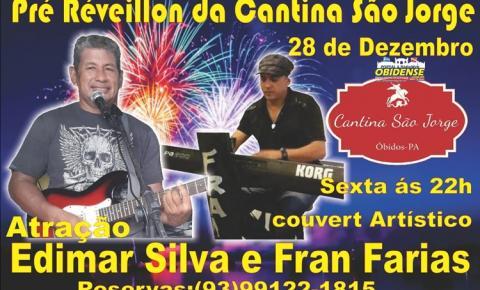 Artistas Obidenses que residem em Manaus, voltam a Óbidos para fazer pré Réveillon na Cantina São Jorge