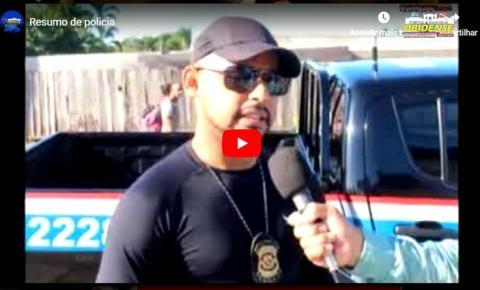 Veja o resumo de polícia com nosso correspondente Márcio Garcia direto de Oriximiná – PA