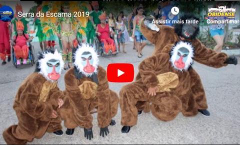 Bloco Serra da Escama divulga sua música para o Carnapauxis 2019.