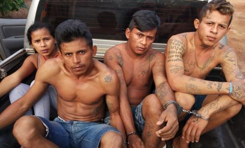 Em Alenquer as polícia Civil e Militar realizaram a Operação Grande Família, no combate ao tráfico de drogas