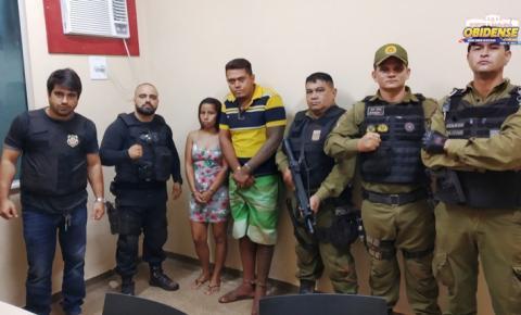 Na cidade de Alenquer as polícias Civil e Militar cumpre dois mandatos de prisão nas primeiras horas deste sábado