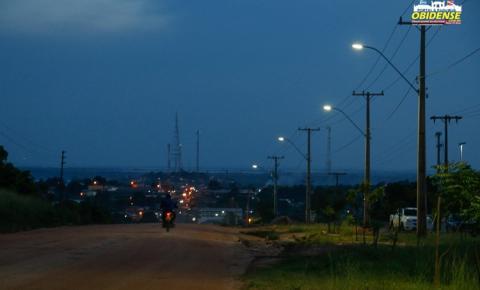 Entrada da cidade de Óbidos ganha iluminação pública pela primeira vez