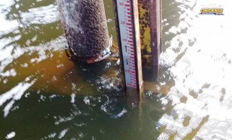 Em Oriximiná, Rio Trombetas atinge marca de 5.78 mtsc no último sábado e está acima do registrado em 2009, época da maior cheia.