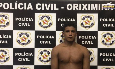 Polícia de Oriximiná prende acusado de latrocínio, crime que aconteceu em 2016. A prisão foi resultado da operação Acari.