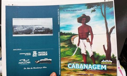 Outro livro que será lançado em Óbidos no dia 04. Cabanagem, está em fase de impressão.
