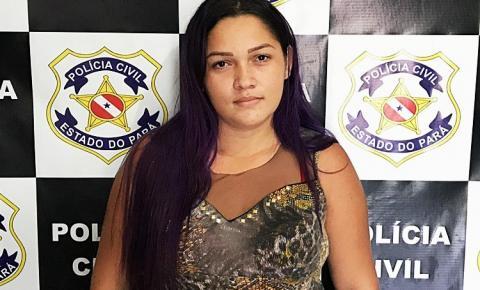 Polícia Civil prende fugitiva em comunidade rural no município de Óbidos.