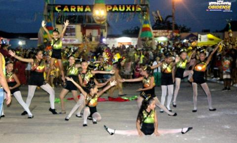 Com coreografia e mágica o Bloco Mirim Unidos do Umarizal, surpreendeu o público em sua noite no Carnapauxis.