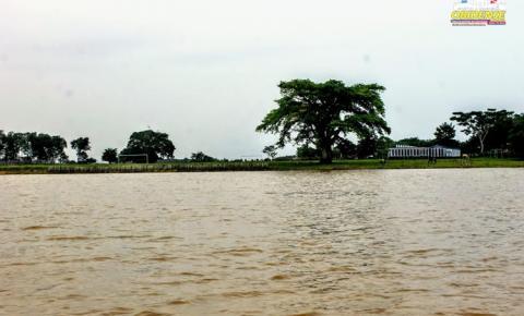 Nível do rio Amazonas está 50cm abaixo da maior cheia registrada em 2009.
