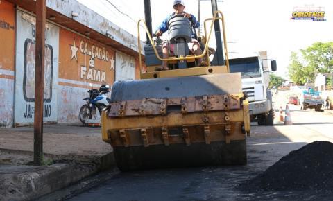 Inicia a obra de recuperação das laterais da Avenida Prefeito Nelson Souza