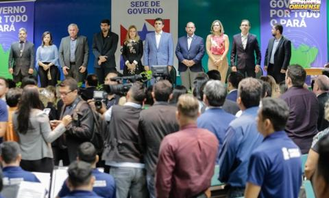Prefeitos e vereadores se reuniram com o governo do estado na cidade de Santarém.