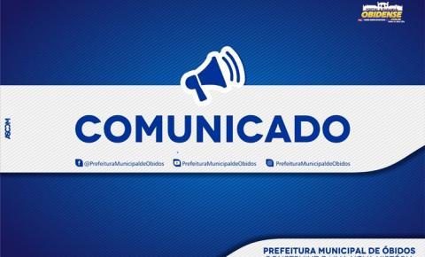 Prefeitura de Óbidos emite nota sobre obras e planejamentos de recuperação de ruas e avenidas da cidade.