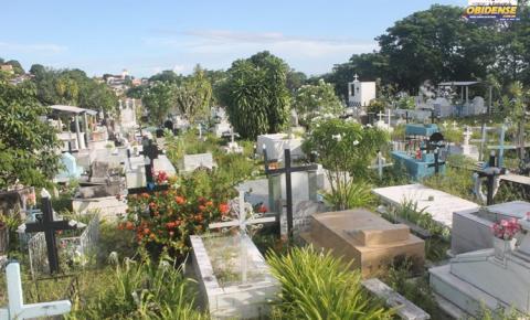 Moradores voltam a reivindicar a falta de manutenção no Cemitério São João Batista em Óbidos.