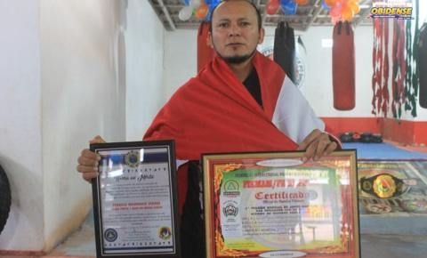 Mestre em artes maciais obidense ganha título mundial em disputa nacional em São Paulo.