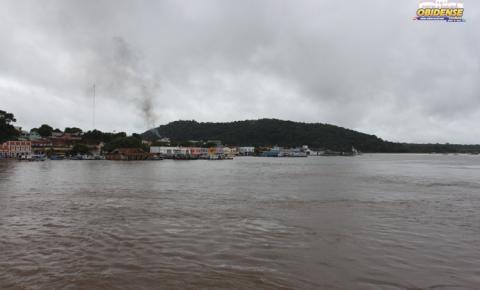 Nível do rio Amazonas chega aos 6.80 cm em Óbidos.