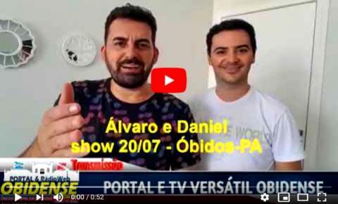 Dupla Álvaro e Daniel que fazem sucesso cantando Louvor Sertanejo já tem presença garantida na Festividade de Sant´Ana.