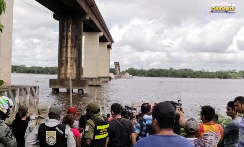 Estado mobiliza segurança pública para resgate de vítimas do acidente na ponte Rio Moju