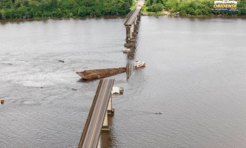 Embarcação que colidiu com ponte Rio Moju não tinha licença para transporte de carga