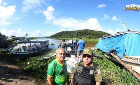 Sema e polícia militar realizaram operação de repreensão na região do logo do Mondongo