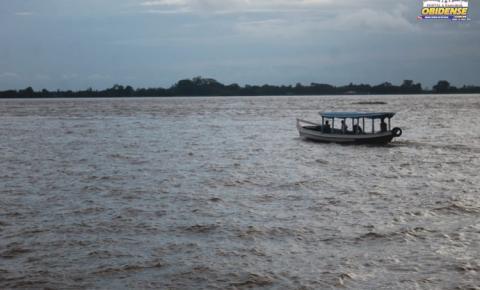 Nível do rio amazonas em Óbidos ultrapassa a marca dos 7 metros.