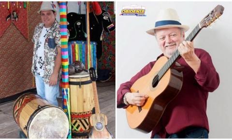Sebastião Tapajós e Gonzaga Blantes em Óbidos. O fino da musicalidade amazônica estarão na cantina São Jorge no dia 27
