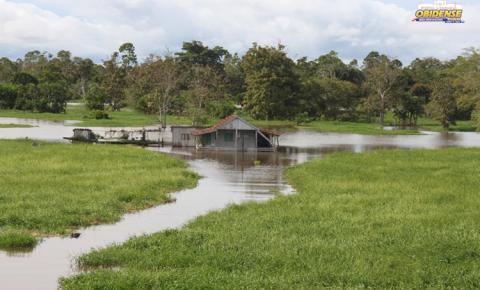 Nível do rio Amazonas sobe 14 cm em 5 dias