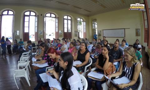 SEMED realiza reelaboração da proposta Curricular do município de Óbidos com o grupo de trabalho e gestores