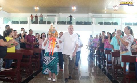 Missa em ação de graças foi celebrada para a comunidade obidense que reside em Manaus dando início a peregrinação de Sant`Ana