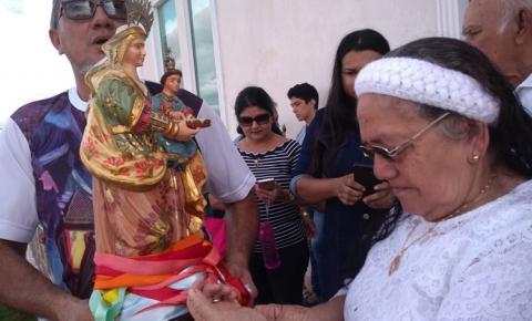Nesta segunda feira (29) duas residências receberá a vista da Senhora Sant`Ana que está em peregrinação em Manaus