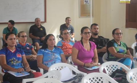 SEMED realiza segundo congresso dos jogos estudantis em Óbidos