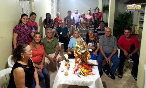 Nesta quarta-feira (01) uma residências receberá a vista da Senhora Sant`Ana que está em peregrinação em Manaus