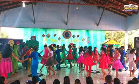 Escola de ensino fundamental Inglês de Souza realiza a II Feira de Leitura em Óbidos