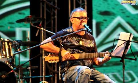 Cantor Obidense Wanderley Brandão, fará show domingo (05) na feijoada do Obidense, no Rio Negro Clube em Manaus