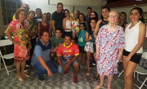 Neste sábado (04) Sant`Ana peregrina visita as residências de Jandira e Josilene, Julieta Figueira e Oficina J. Sena
