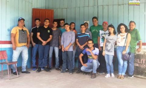 Alunos do IFPA realizam etapa final do estágio obrigatório para conclusão do curso de Floresta